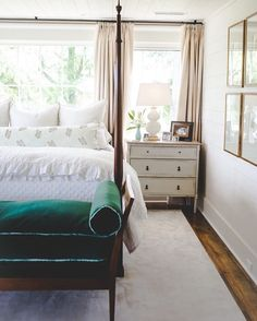 @southernlivingmag bedroom feature>> @ashleygilbreathinteriordesign