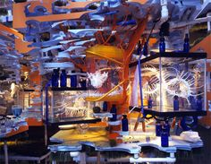 The Triple Point of Water (2003) by Sarah Sze American Pavilion