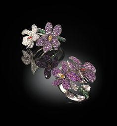 Palmiero Jewellery Design 'Flowers Violette'