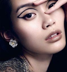 Creative and avant-garde eyeliner ideas