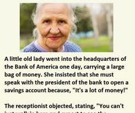 Little Old Lady Funny Joke