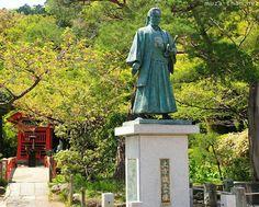 Hijikata Toshizo statue, Takahata Fudo Temple (Kongo-ji), Hino, Tokyo