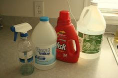 The Brown Eyes Have It: DIY Stain Pretreater & Other Laundry Tips