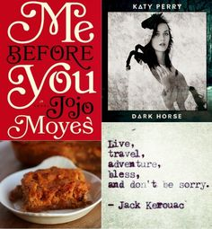 Four Things. Book, song, recipe quote!