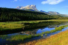 Beautiful scenery at Jasper National Park in Alberta.  Photo by Tony Lovato.