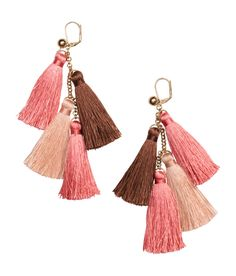 Earrings with tassels  | H&M Gifts