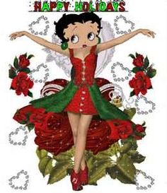Image Search Results for images of betty boop christmas