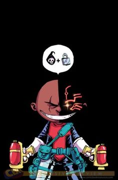 "EXCLUSIVE: Skottie Young Covers ""Deathlok,"" ""Bucky Barnes: The Winter Soldier"" - Comic Book Resources"