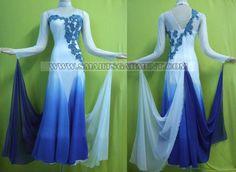 Dance - Ballroom Standard: blue and white