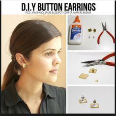 #earrings #diy