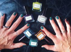 last week's @soignenailsuk press day #manicures with @amistreets working her magic. #soigne #botanical #nailpolish #5free #nails #nailstagram #nailswag #bblogger #notd #ootd #inspo #nailsalon #fblogger #instanails #nailart #manicurist #swag #nontoxicmakeup #instabeauty #crueltyfreemakeup #ecoluxebeauty #beautycommunity #makeuphaul #instamakeup