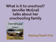 What's it like to unschool? #unschool #homeschool