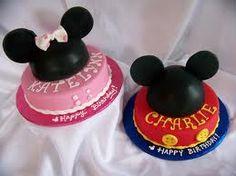 Minnie Mouse Birthday Cake, Mickey Mouse Birthday Cake #Disney #Cakes