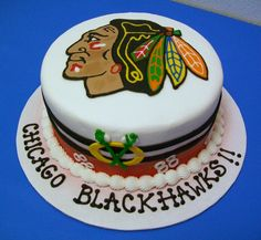 blackhawks cake - Google Search