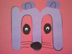 zoo phonics art. missy mouse