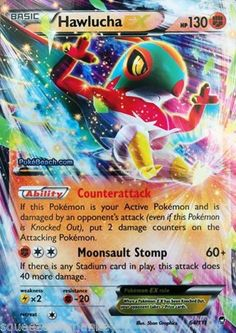 Pokemon-Card-Furious-Fist-Hawlucha-EX-Mint