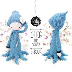 +Crochet+Pattern+Doll+OLEG+the+octopus+squid+from+lalylala+-+handmade+by+DaWanda.com