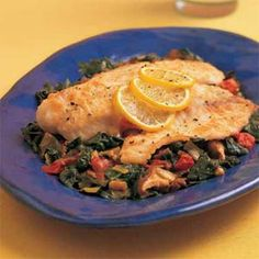 Pan-Seared Cod Over Vegetable Ragout | MyRecipes.com #MyPlate #protein #vegetables