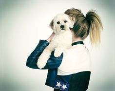 Check out this article & match your dog to your outfit - dogs as an accessory?
