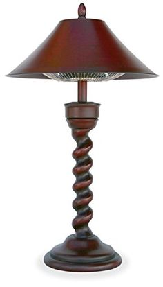 Special Offers - UniFlame Corporation EWTR800SP Electric Table Lamp Heater With Mahogany Finish - In stock & Free Shipping. You can save more money! Check It (June 29 2016 at 03:07AM) >> http://tablelampusa.net/uniflame-corporation-ewtr800sp-electric-table-lamp-heater-with-mahogany-finish/