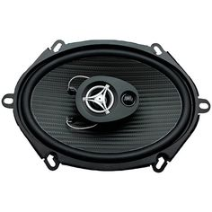 "Power Acoustik Ef-573 Edge Series Coaxial Speakers (5"" X 7"", 3 Way, 500 Watts Max)"
