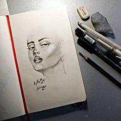 1,103 отметок «Нравится», 10 комментариев — 🎨 artist (@kattybanga) в Instagram: «Speed face sketching. Another view, another face. . . . . . . . . . . #sketch #legs #SKETCHING…»