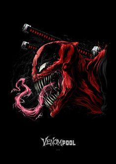 34 marvel, Deadpool, carnege, enemy combination, - Home Deadpool Hd Wallpaper, Avengers Wallpaper, Marvel Venom, Marvel Dc Comics, Marvel Heroes, Marvel Avengers, Chibi Marvel, Marvel Cartoons, Deadpool En Hd