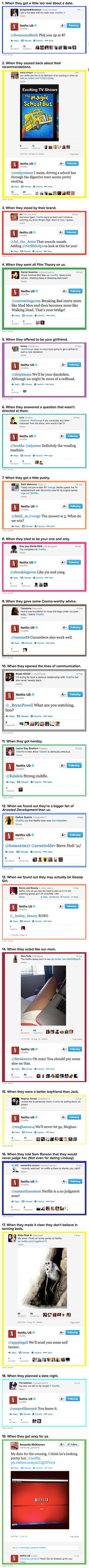 We have rounded up some cool examples showing why Netflix really loves its users.
