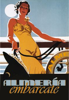 Mixed Media - Canadian Pacific - Cruises - Retro Travel Poster - Vintage Poster by Studio Grafiikka , Art Deco Posters, Vintage Travel Posters, Retro Posters, Design Posters, Movie Posters, Poster Ads, Advertising Poster, Vintage Advertisements, Vintage Ads