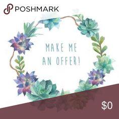 🦋🌺 Make an offer! Other