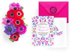 И мы не удержались от создания мексиканских приглашений. Яркие, стильные, сочные! Вы можете заказать их у нас на сайте. mexican wedding invitations