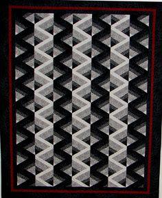 Positive or Negative.jpg (1726×2112)  by Alice K. Arnett    Lovely black and white quilt