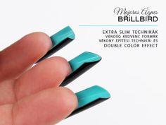 BrillBird Color Effect, Slim, Nails, Finger Nails, Ongles, Nail, Nail Manicure
