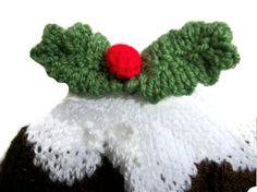 Adult Xmas Pudding Hat Figgy Plum All sizes by thekittensmittensuk, £9.99