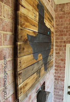 pallet art texas sized, crafts, pallet, repurposing upcycling