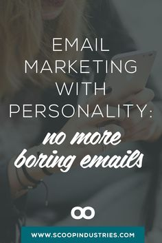 Email Marketing with Personality: No More Boring Emails - Email Marketing - Start your email marketing Now. - PIN these 3 ways to create email marketing for your small business with personality. Be more memorable and stand out in a crowded inbox.