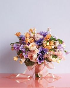 Strauß nancy Form und Blumen
