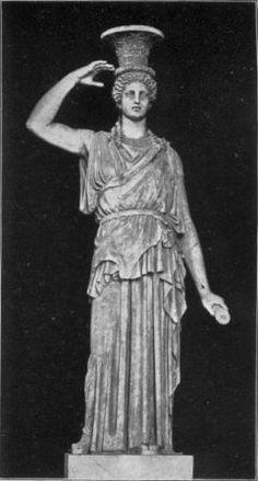 Caryatides now in the Villa Albani, Rome