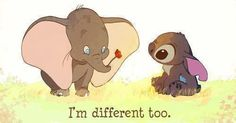 I'm different too