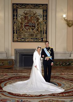 A Royal Success: Queen Letizia of Spain's Style - Princess Letizia Prince Felipe Royal Wedding