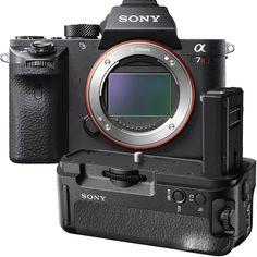 Sony - Alpha a7R II Full-Frame Mirrorless Camera Body and Vertical Grip