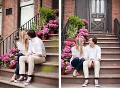 Brooklyn Heights Engagement Session | brooklyn heights | couple in brooklyn | www.charlie-juliet.com | ©Charlie Juliet