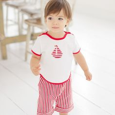 dave bella 2013 new summer striped baby clothing s dave & bella combed cotton one pc in high quality PP bag. Summer Stripes, T Shirt And Shorts, Classic Outfits, Summer Baby, Piece Of Clothing, Baby Boy Outfits, Flower Girl Dresses, Summer Dresses, Cotton