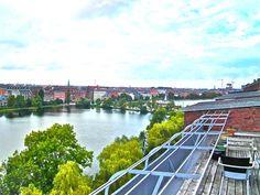 Vester Søgade 52, st. tv., 1601 København V - Udsigt over søerne #ejerlejlighed #boligsalg #selvsalg  #vesterbro #kbhv #copenhagen #tagterasse