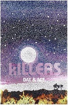 The Killers Poster Handbill Day & Age and by RhythmHound, http://www.amazon.com/dp/B004UNXH26/ref=cm_sw_r_pi_dp_X9fKrb045BTFJ
