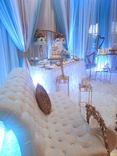 Baby Boy Angel Shower Decorations, Baby Boy Angel Shower Ideas, Baby Boy  Angel Shower
