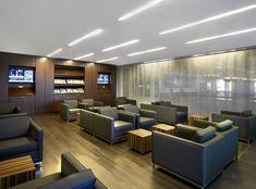 Tux seating within Postmedia's Toronto office