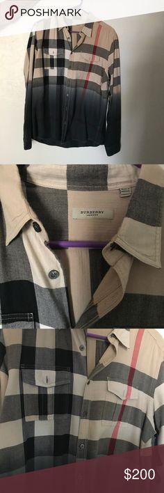 Sz Large/ men's Burberry button up Sz Large/ men's Burberry button up Burberry Shirts Dress Shirts