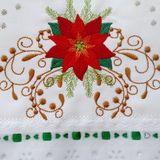 Pano de Copa Natal no Elo7   Atelie Casa Da Alice (AB8671) Teacher Appreciation Cards, Napkins, Tableware, Alice, Kitchen Towels Crafts, Dish Towel Crafts, Kitchen Products, Dish Towels, Christmas Sewing Projects