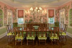 The Glam Pad: My Dream Pink Dining Room